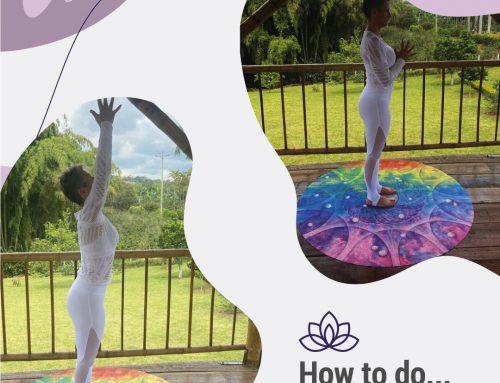 How to do… Tadasana & Utthita Hastasana in Tadasana